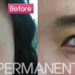 Forever Permanent Makeup - Eye Semi Permanent Make Up - Before & After